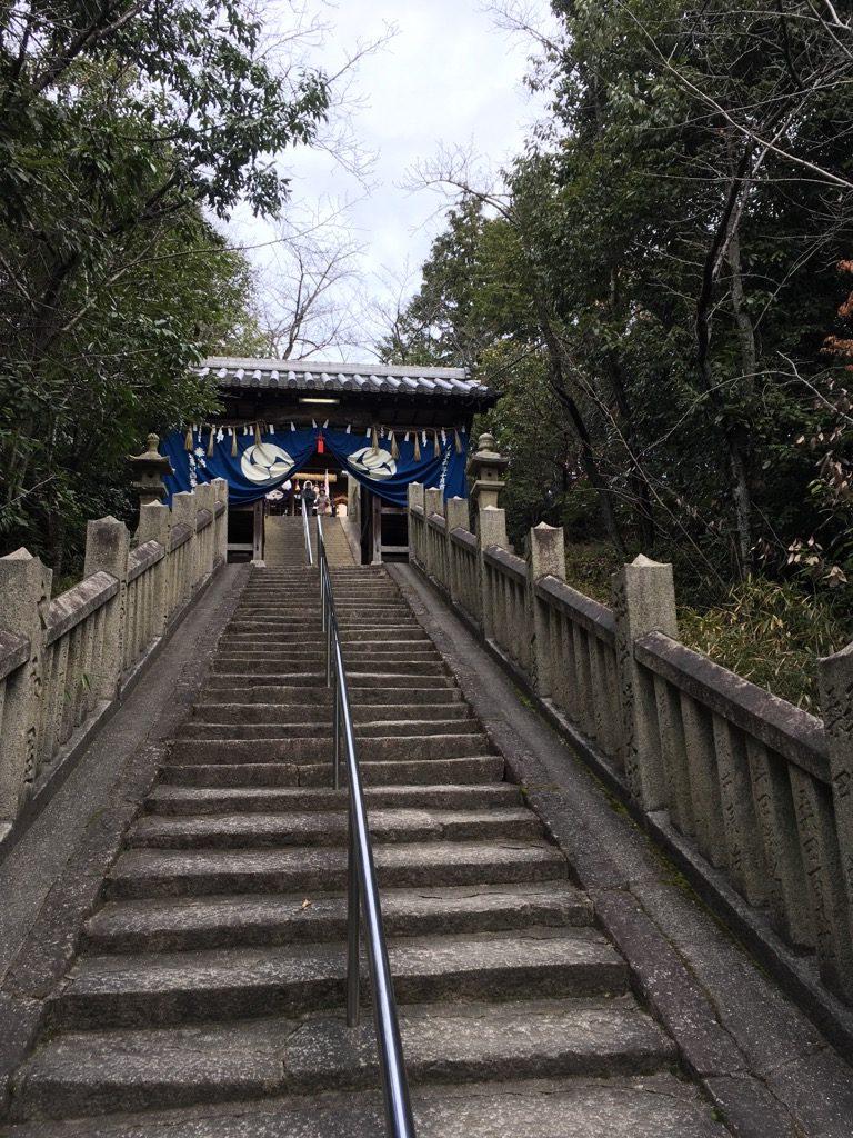 天神社階段