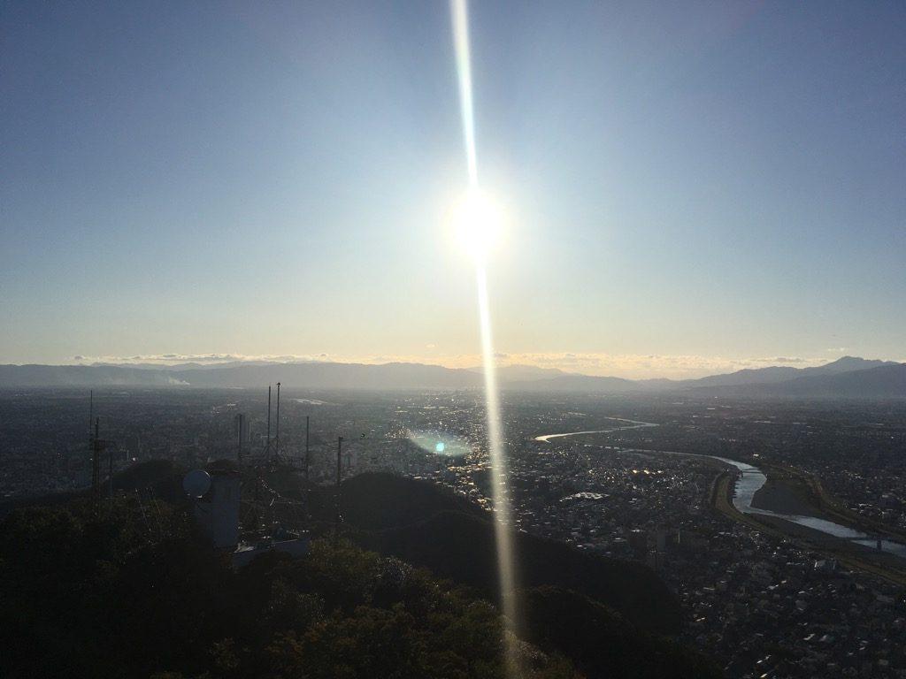 金華山からの遠景